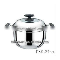 stainless steel cookware and sauce pot