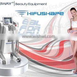 Waist Shaping Hot New Products Ultrasonic Skin Lifting HIFU Shape Body Slimming Beauty Machine