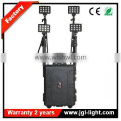 portable high power industrial construction lighting heavy duty light military lighting system 8000lm RLS584433-144W
