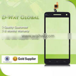 Mobile Phone Spare Parts Touch Screen Digitizer For Wiko Rainbow Touch Panel With Glass Lens For Wiko Rainbow