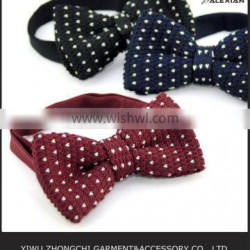 various colors polka dot bow tie