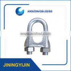 Wire Rope Accessories Din741 Cable Clamp