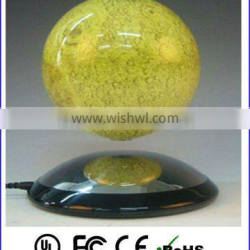 China supplier magnetic floating globe,floating & spinning moon globe display