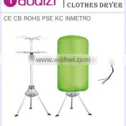 Anion Release Quite-drying Clothes Dryer Airer 1000W PTC Heating