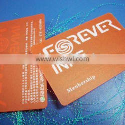 HOTselling pvc transparent card