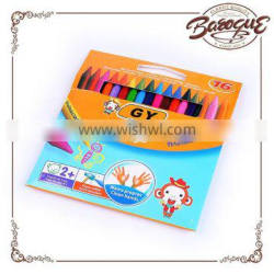 Get free sample artist professional drawing non toxic high quality plastic wax color crayons set for children wax coloring