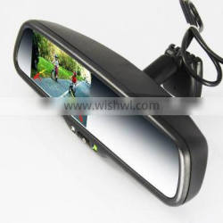 special car rear view mirror use 3.5inch/4.3 inch normal mirror
