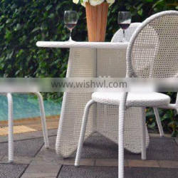 2017 Sigma promotion wholesale all weather resin wicker modern restaurant tables and chairs