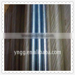 Professional production fastener threaded rod din gb