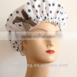 2013 new cute and beautiful shower cap for hotel and other places