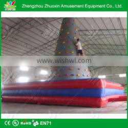 2014 good quality urable PVC inflatable kids indoor climbing frames