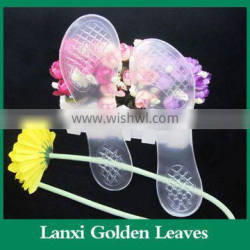 Transparent 3/4 gel insole anti-skidding summer insole for high heel shoes