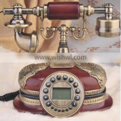 Colorful Polyresin Antique Telephone with vintage design