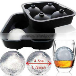 Ice Cream Tools Type and Stocked,Eco-Friendly Feature 4 Whiskey Ice Balls