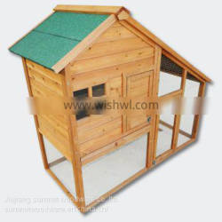 Wooden Rodent house Bunny hutch Hen coop Pet house Free run Enclosure