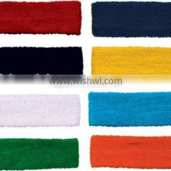 Buy Cotton embroideried Sports Sweat Headbands