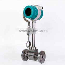 High accuracy flow measurement steam vortex flow meter