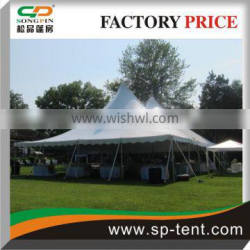 12x18m classic pole tents For 150 people dinner events
