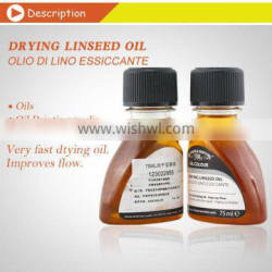 75ml Winsor & Newton Artist Drying Linseed Oil Painting mediums,Olio di lio essiccante