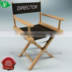 Wooden director chair,black dining chair
