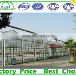 Venlo Type Glass Greenhouse for cold area