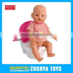 Girl toys Pretend play toys Multi-function musical Closestool toys for doll use