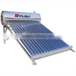 Gravity stainless steel solar water heater 100L 150L 200L