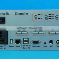 Gaoke GK-600 Multimedia Controller for education,high quality,audio video signal