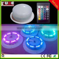 Hot sale rechargeable battery operated LED lamp with remote control