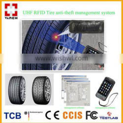 UHF RFID tire patch tag handheld reader for tire management