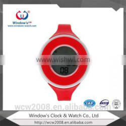 2015 unique digital watch led silicone watch