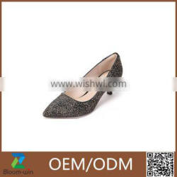 Fashion elegant autumn offcie shoes for lady