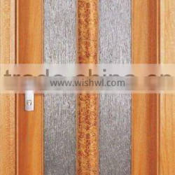 Two Lites Glass Interior Door Designs For House DJ-S5414