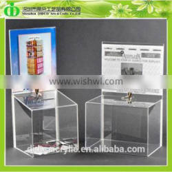 DDD-0162 Trade Assurance Cheap Charity Collection Boxes