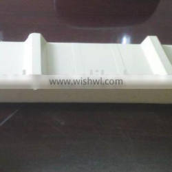 Metal panel material and PU sandwich panels type for indoor wall material