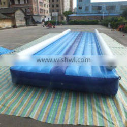 Hot selling inflatable air tumble track,inflatable air track for sale