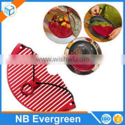 Expandable Strainer Plastic Kitchen Water Strainer For Pot Pan Bowl