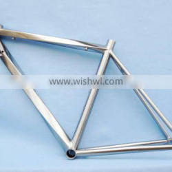 Titanium Road bike frame with Di2 Cable Running and Helix Bike frame
