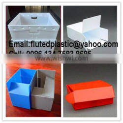 PP plastic corrugated box for package and storage