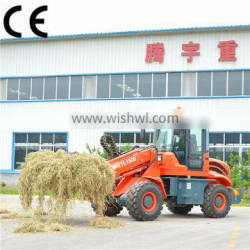 chinese mini loader TL1500 4x4 wheel drive telescopic loader wheel loader for sale