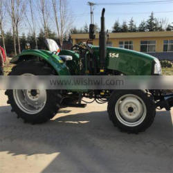 Hot sale 50hp mini wheel tractor with loader for sale