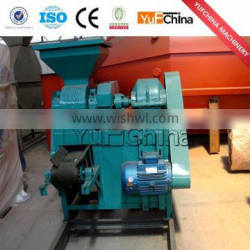 Smokeless and CE approved charcoal briquette machine