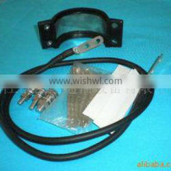 Touchdown cable clip series / cable grounding kits / cable earthing kits