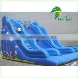 Funny Good Quality On Sale Inflatable Floating Water Slide