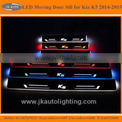 High Quality LED Door Sill Plate for Kia K5 Optima Hot Selling LED Side Step for Kia K5 Optima Running Board