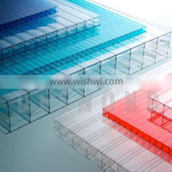 Desmond polycarbonate multi-wall sheet top quality colored&clear anti-UV 10Years Quality Warrenty pc sheet hollow sheet