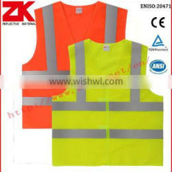 wholesale safety traffic warning waistcoat with EN20471