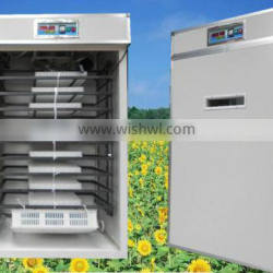 fully automatic 2656 quail eggs industry incubator