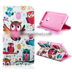pu leather covers for NOKIA Lumia 535 cell phone case with stand flip cover