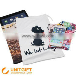 Microfiber pouch for mobile phone and camera wristband heart rate monitor